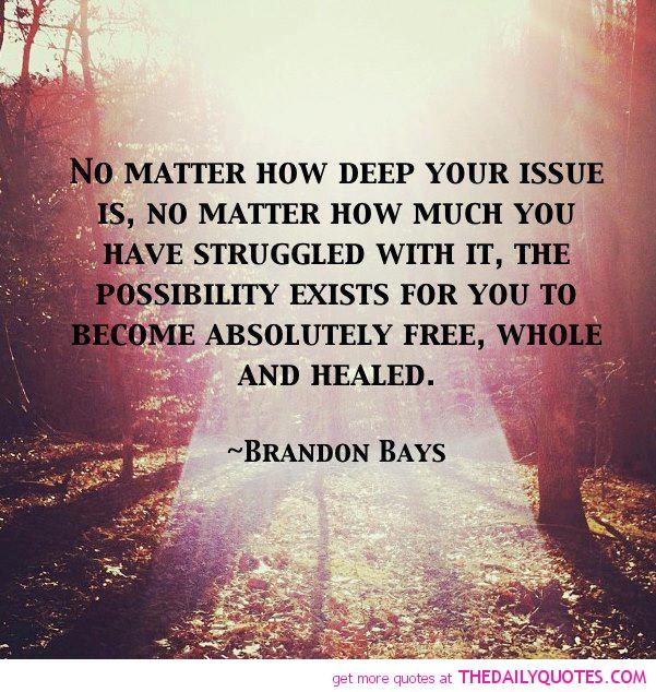 Healing possibility - Brandon Bays